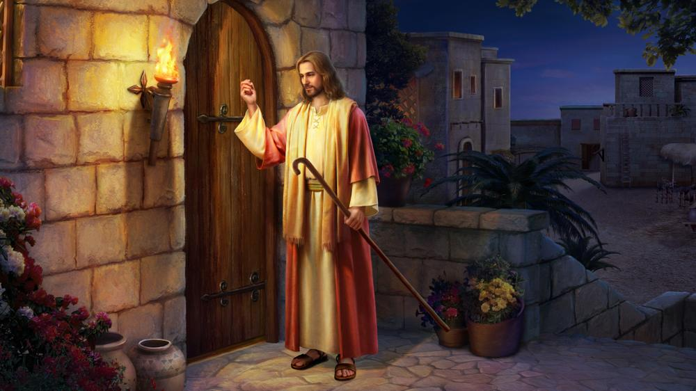 I am the door: by me if any man enter in,